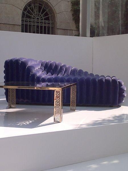Versace Bubble Sofa | Furniture | Pinterest | Versace, Sofa bench ...