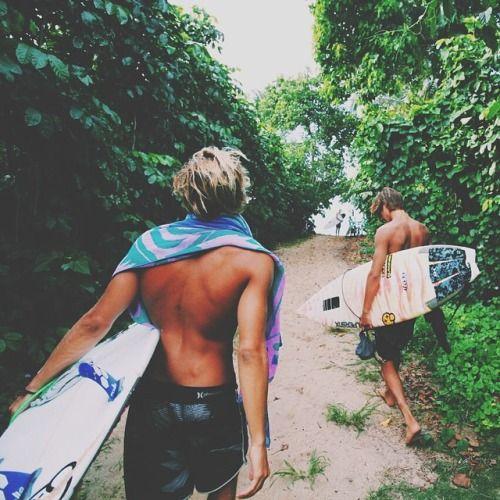waves w/ boiz | COCONUTS AND SUNSHINE