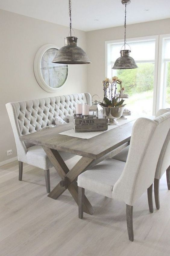 34 Popular Dining Room Round Table Design Ideas In 2020 Dining