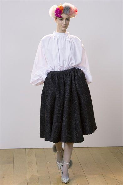 Sfilata Eudon Choi London - Collezioni Autunno Inverno 2013-14 - Vogue