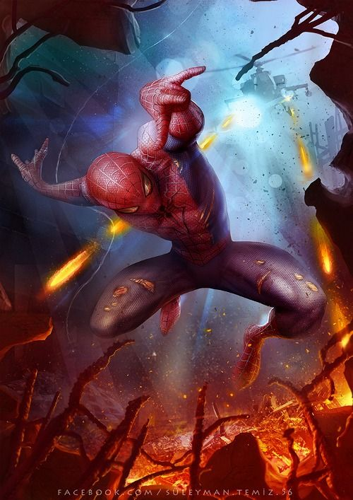 Spider-Man by Süleyman Temiz #comics #art
