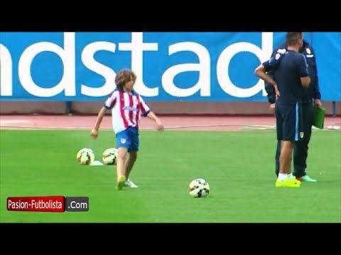 Increíble el hijo del Cholo Simeone imita Tiros Libres de Cristiano Ronaldo