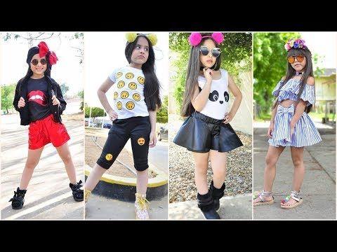 ازياء صيفية للبنوتات 2018 اطقم ملابس شيك للعيد بناتي 2018 ازياء اطفال بنات 2018 Youtube Fashion Style Punk
