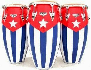 Cuban Flag Congas