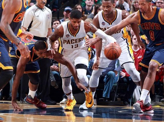 Indiana Pacers-Cleveland Cavaliers (Reuters)