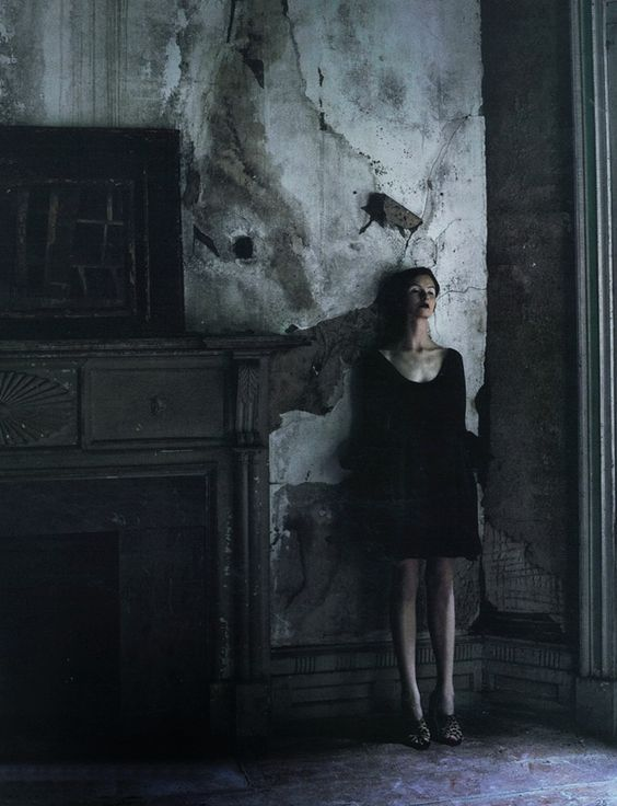 Barney's New York Fall/Winter 2010 CataloguePhotographer: Deborah TurbevilleModel: Kamila Filipcikova