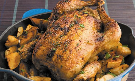 Chef Paul Vocadlo, Bistro Dansk Our cover depicts a whole roasted chicken, in the restaurant kylling portions are a healthy half bird as this recipe instructs. Ingredients 1/4 butter 1 cup chopped celery 1 cup chopped onions 1 tsp dried basil 3/4 tsp paprika 1 cup dried apricots, thinly sliced 2 Tbsp water 4 cups …