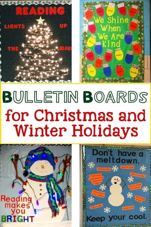Unique Bulletin Board Ideas For Teachers New April 2021 Christmas Winter Boards