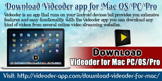 The Videoder is application to download videos from online videos streaming  websites. The application searches