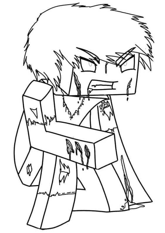 Free Minecraft Coloring Pages Minecraft Coloring Pages Horse Coloring Pages Cartoon Coloring Pages