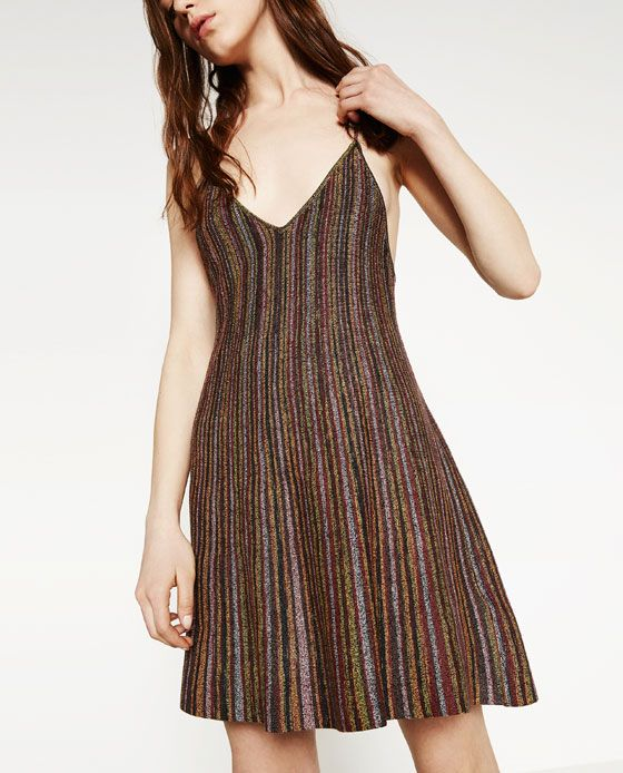 Image 4 of MULTI-COLOURED DRESS from Zara