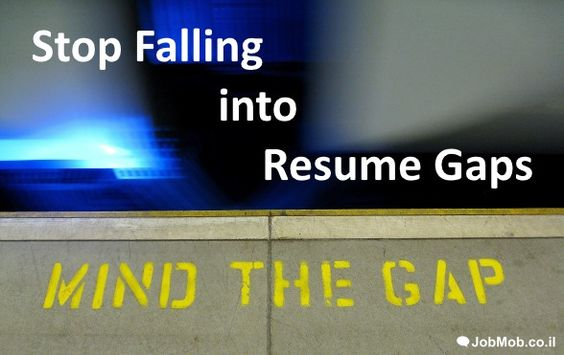 ↘ Stop Falling into Resume Gaps Job search and Resume writing - gaps in employment
