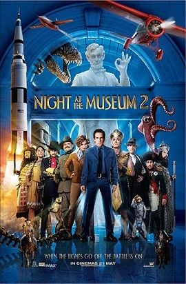 Đêm Tối Tại Bảo Tàng 2: Trận Chiến Hoàng Gia - HD