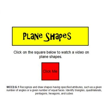 This flipchart introduces basic 2D shapes. The shapes that are ...
