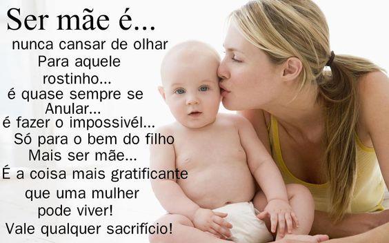 Amo ser Mãe!