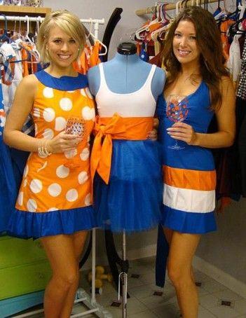 UF graduates make game day dresses