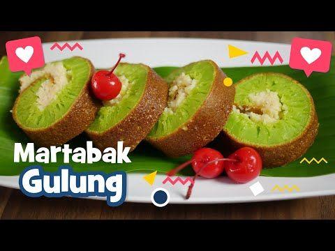 Resep Martabak Gulung Pandan Keju Youtube Keju Kue Cemilan