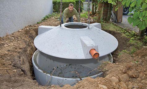 Zisterne Selbst De Wassertank Garten Zisterne Selbermachen Garten