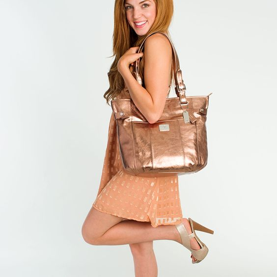 """Grace Adele """"Bella"""" leather bag, in Bronze - I am so excited, it is almost time for my new bag to arrive!"""