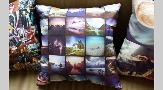 Stitchtagram - Instagram throw pillows: Great gifts for your favorite Instagram addict