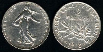 moedas 2 francos - Pesquisa do Google