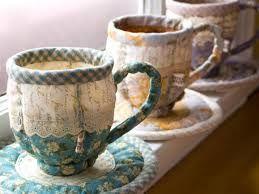 Resultado de imagem para patchwork pottery