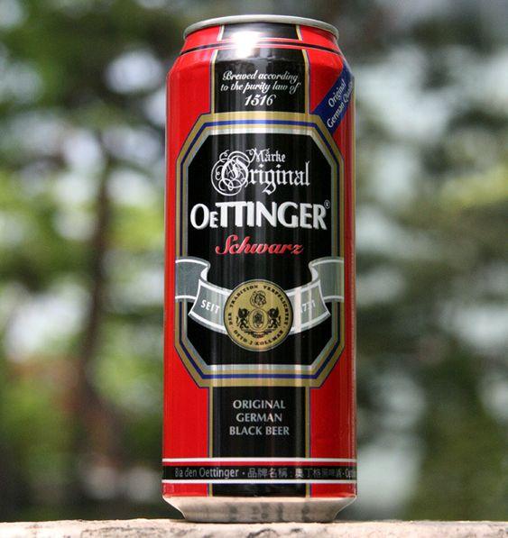 bia oettinger đen