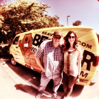 First stop with Fletch from the Beaver in Clarksville! Thanks WVVR.
