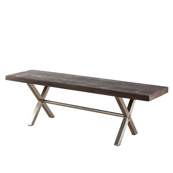 Coorg Reclaimed Wood Bench