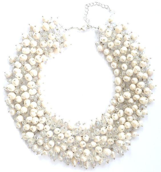 CIMP #Gorgeous pearl necklace  #perlmutt