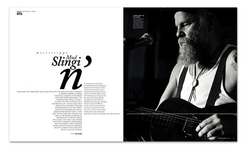 Modern Design Magazine seasick steve, music - modern design magazine november 2088, issue