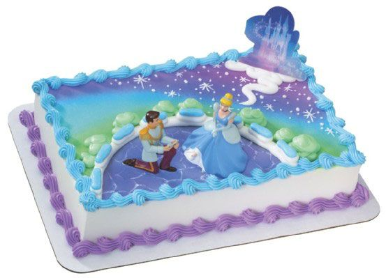 Cinderella Birthday Cake Toppers Image Inspiration of Cake and