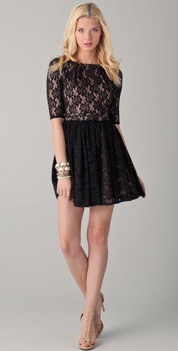 Rachel Zoe Amanda Lace Dress--