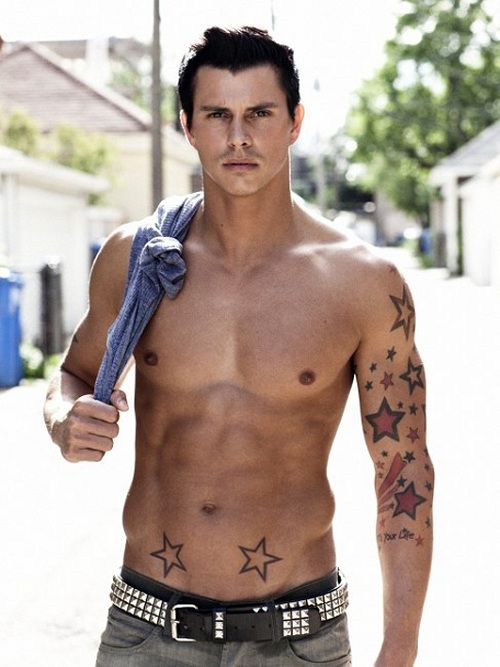 Kenny Braasch... hot but, star obsessed much?