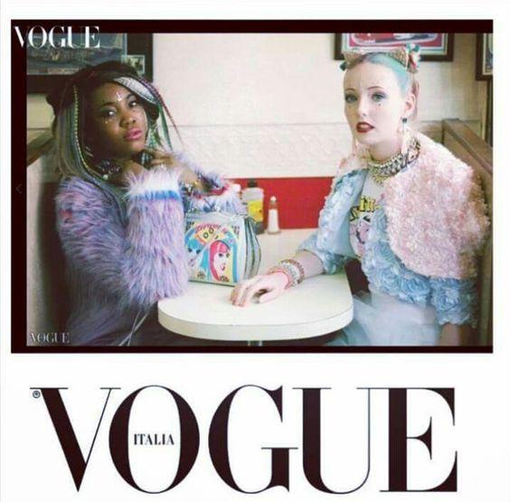 Italian Vogue....Helen Rochfort Handbag