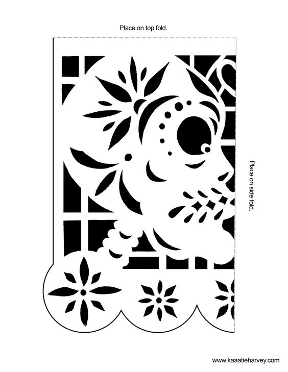 papel picado banners and templates on pinterest. Black Bedroom Furniture Sets. Home Design Ideas