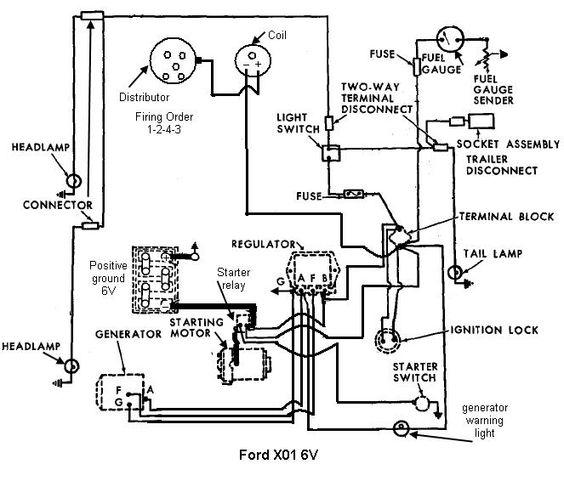 Ford 4000 Generator Wiring Diagram Diagrams For Diy