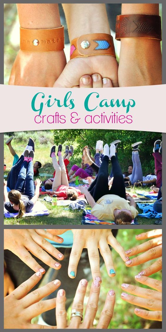 I promised more LDS girls camp ideas and here they are--even though girls camp is over for many of you....