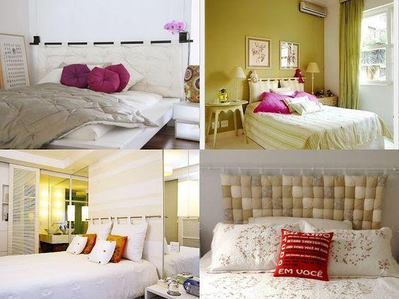 Ideias para cabeceira de cama box | Futililidades <br>& <br>Utilidades