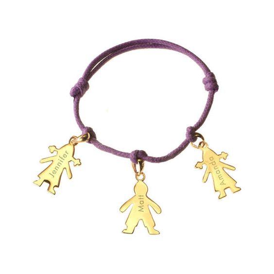 Cherubins Bracelet - Gold Plated by Petits Trésors
