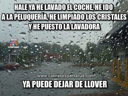 Ley De Murphy No Falla Cuando Llueve Lluvia Memes De Lluvia Danza De La Lluvia
