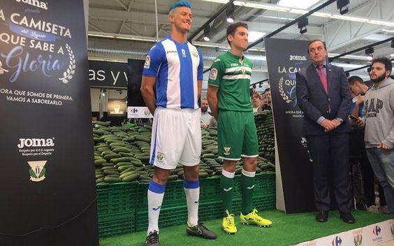 Ceci est le nouveau Maillot de foot CD Leganés pas cher pour la saison 2016/2017;: