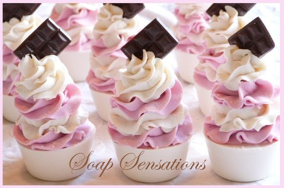 Little Cupcake Soaps