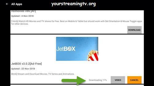 Jetbox Apk App Install Guide For Firestick Fire Tv Fire Tv