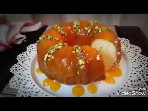 Blog Post 361 Video طريقة عمل كيكة البرتقال مع صوص البرتقال على الوجه المكونات 4 بيضات 1 معلقة صغيرة فانيلا 1 1 2 كاس سكر ابيض ا معلق Desserts Food Cake