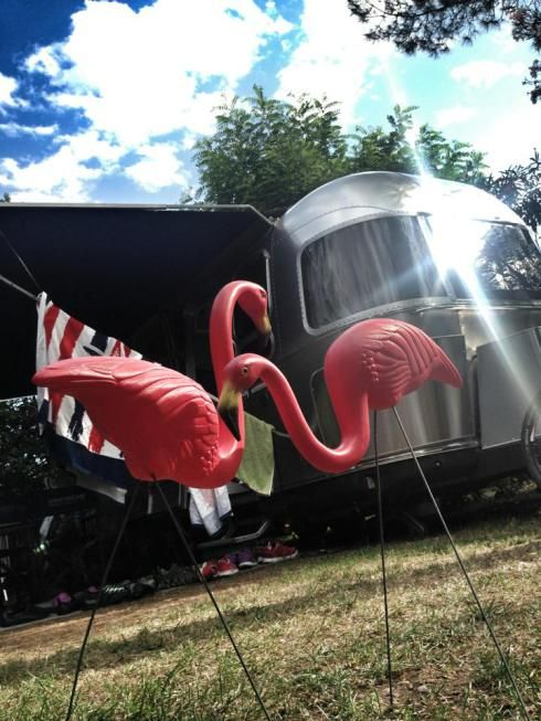 Airstream Lawn Ornaments