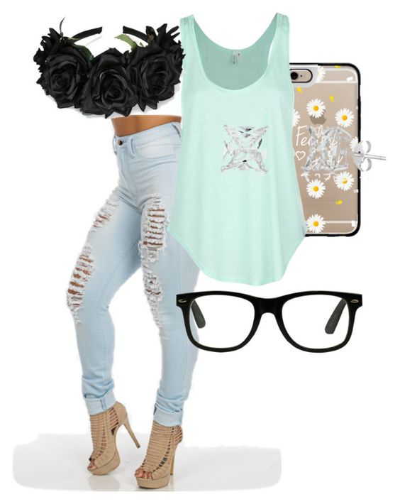 """""""Untitled #45"""" by amhsoftballqueen ❤ liked on Polyvore featuring Casetify and Rip Curl"""