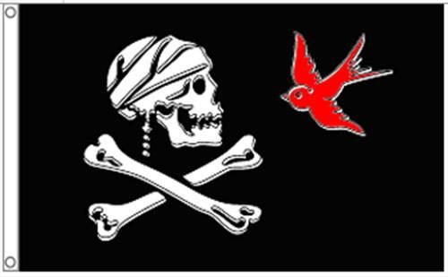 "PIRATE Street Sign jolly roger skull crossbones ship Indoor//Outdoor  18/"" Wide"