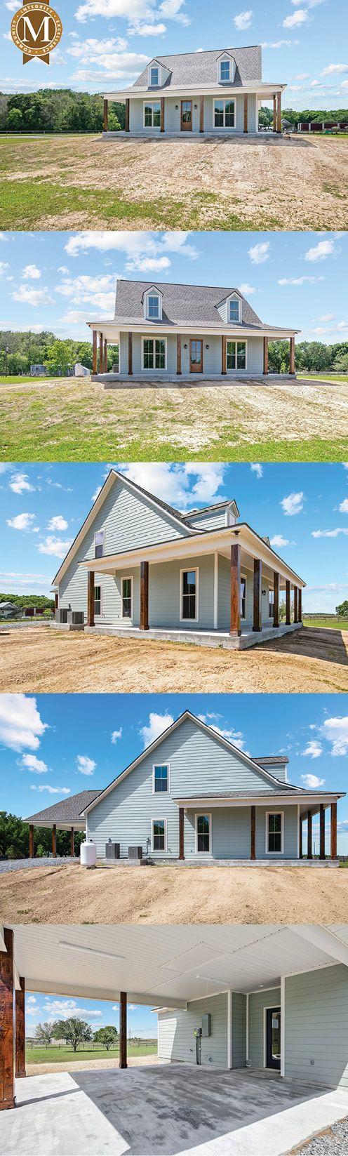 Acadia Farmhouse Floor Plan South Louisiana Home Builder Dream House Exterior Farmhouse Floor Plans Tiny House Nation
