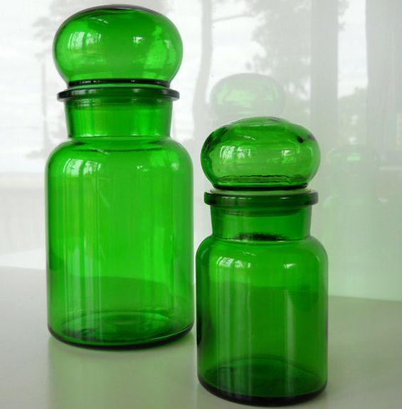 Green jars - Master